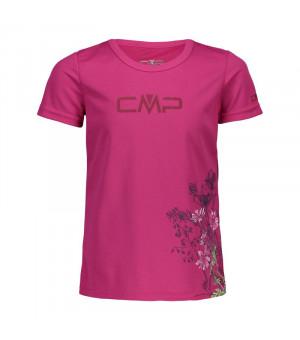 CMP Girl T-Shirt Tričko H820 ružové