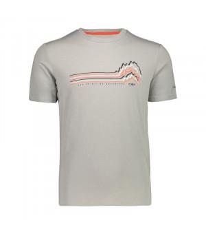 CMP Man T-Shirt Tričko U 532 sivé