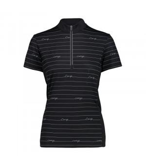 CMP Woman Freebike T-Shirt Tričko 59UC čierne