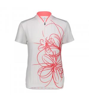 CMP Woman Bike T-Shirt Tričko A001 biele