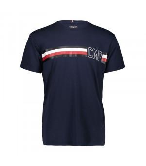 CMP Man T-Shirt Tričko N950 modré