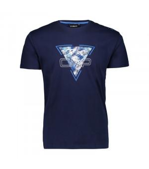 CMP Man T-Shirt Tričko M982 modré