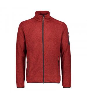 CMP Man Jacket Mikina 64BH červená