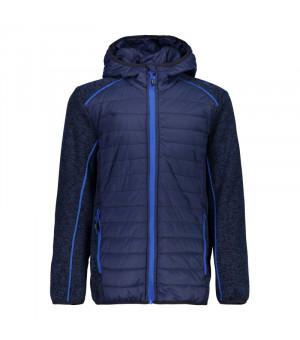 CMP Boy Jacket Fix Hood Hybrid Mikina M919 modrá