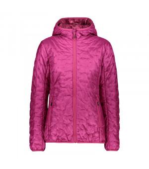 CMP Woman Jacket Fix Hood Bunda H820 ružová