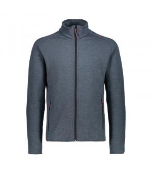 CMP Man Jacket Mikina 12TC sivá