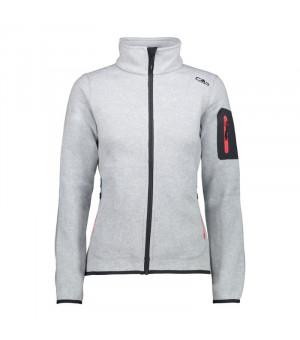 CMP Woman Jacket Mikina 03XC sivá