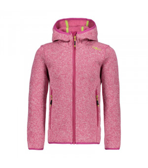 CMP Girl Jacket Fix Hood Mikina 29HC ružová