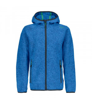 CMP Boy Jacket Fix Hood Mikina 19MC modrá