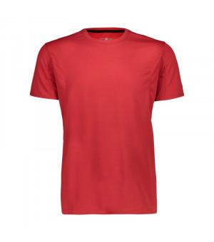 CMP Man T-Shirt Tričko C848 červené