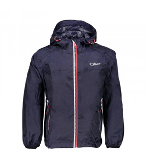 CMP Boy Jacket Fix Hood Bunda M982 modrá