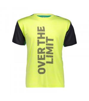 CMP Man T-Shirt Tričko R318 žlté