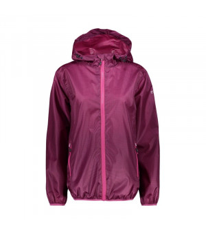 CMP Woman Jacket Fix Hood Bunda 17YC bordová