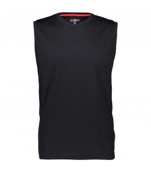 CMP Man Sleeveless T-Shirt Tielko 34UC čierne
