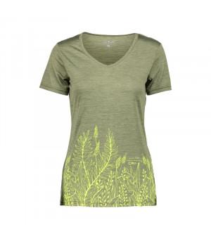 CMP Woman T-Shirt Tričko F844 zelené