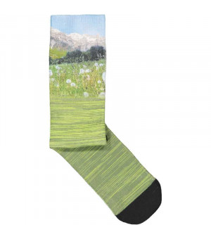CMP Printed Trekking Sock Ponožky 00FC zelené