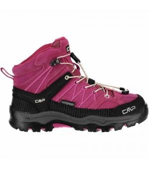 CMP Kids Rigel Mid WP obuv ružová 10HC
