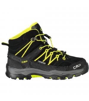 CMP Kids Rigel Mid Trekking Shoe WP 83BG čierne