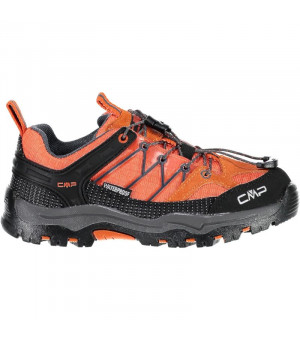CMP Kids Rigel Low Trekking Shoe WP 39CC oranžové