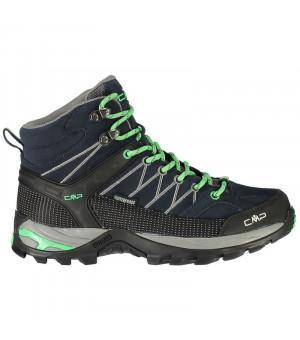 CMP Rigel Mid Wmn Trekking Shoe WP 64BN modré