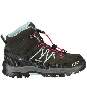 CMP Kids Rigel Mid Trekking Shoe WP 76BN zelené