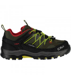 CMP Kids Rigel Low Trekking Shoe WP 00FC zelené