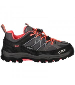 CMP Kids Rigel Low Trekking Shoe WP 46AK sivé
