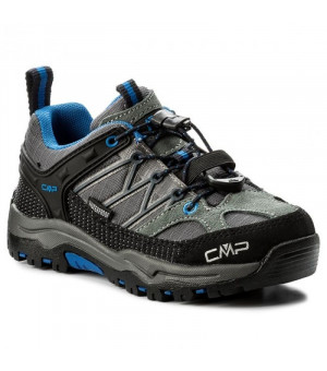 CMP Kids Rigel Low Trekking Shoe J WP 52AK sivé