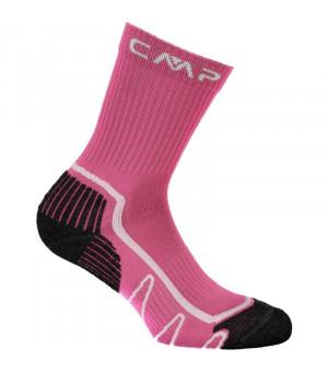 CMP Kids Trekking Sock Poly Mid Ponožky 26HC ružové