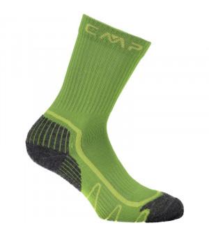 CMP Kids Trekking Sock Poly Mid Ponožky 58EC zelené
