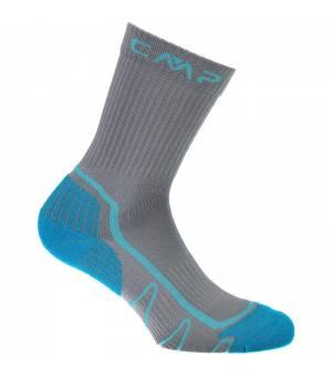 CMP Kids Trekking Sock Poly Mid Ponožky 90UC sivé