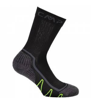 CMP Trekking Sock Poly Mid Ponožky U423 sivé