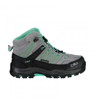CMP Kids Rigel Mid Trekking Shoe WP 35XC sivé