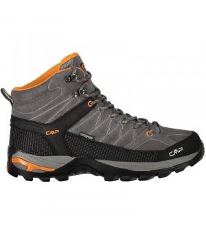 CMP Rigel Mid Trekking Shoe WP 60AK sivé