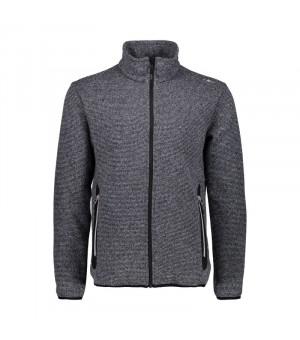 CMP Man Jacket Mikina 14XD sivá