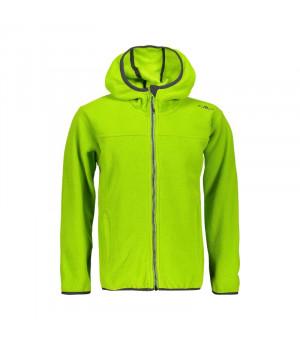 CMP Boy Jacket Fix Hood Mikina E413 zelená