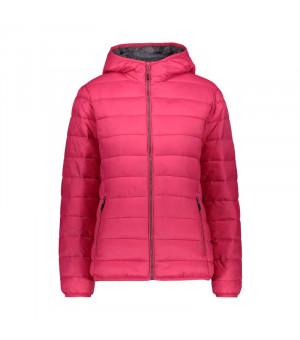 CMP Woman Jacket Fix Hood Bunda H856 ružová