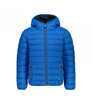 CMP Boy Jacket Fix Hood Bunda L565 modrá