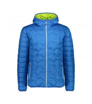 CMP Man Jacket Fix Hood Bunda M962 modrá