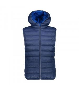 CMP Man Vest Zip Hood M943 modrá