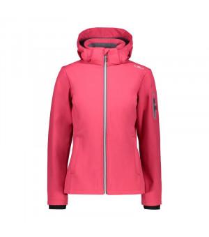 CMP Woman Jacket Zip Hood Bunda H856 ružová