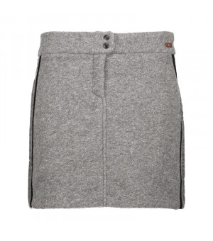 CMP Woman Skirt Sukňa U510 sivá