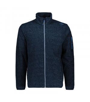 CMP Man Jacket Mikina M943 modrá