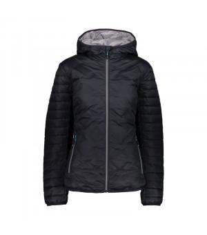 CMP Woman Jacket Fix Hood Bunda U423 sivá