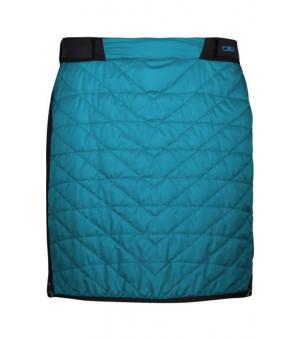 CMP Woman Skirt Sukňa L609 tyrkysová