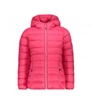 CMP Girl Jacket Fix Hood Bunda H856 ružová