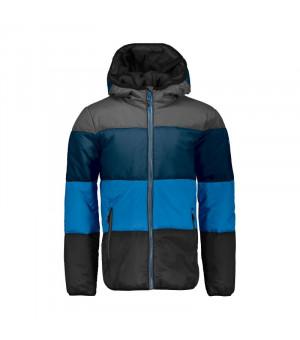 CMP Boy Jacket Fix Hood Bunda U423 sivá