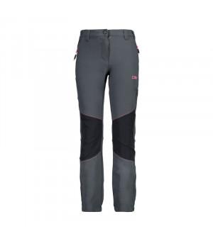 CMP Girl Long Pant Nohavice 20UD sivé