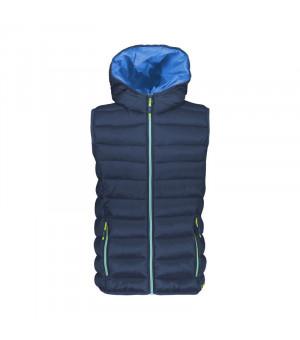 CMP Boy Vest Fix Hood Vesta M943 modrá