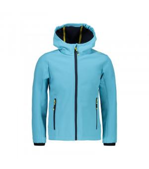 CMP Girl Jacket Fix Hood Bunda L611 modrá